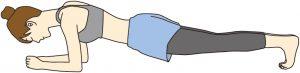 山口県下関市のしんしも整骨院で行う体幹トレーニング。代表的な体幹トレーニング。お腹の引き締め、腰痛予防、カラダの安定に